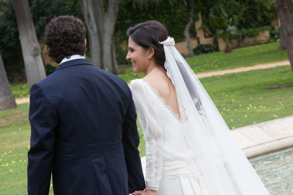 Boda de Sandra y Angel. Beatriz Alvaro novias. Madrid. Alta Costura.